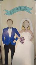 Rental store for PHOTO BOARD - BRIDE   GROOM in West Lafayette IN