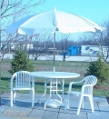 Rental store for PATIO TABLE AND UMBRELLA SET in West Lafayette IN