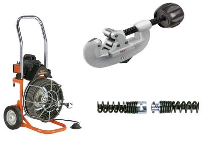 Rent Plumbing & Sewer Cleaning Tools