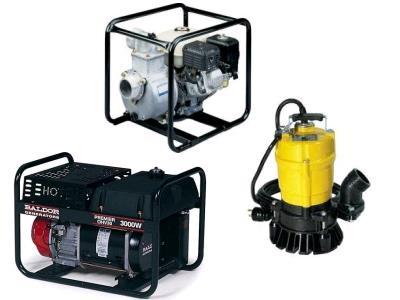 Rent Generators & Pumps