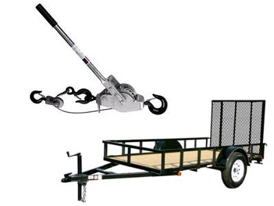 Rent Trailers & Trailer Accessories